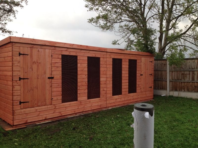 Building Dog Kennels Prices